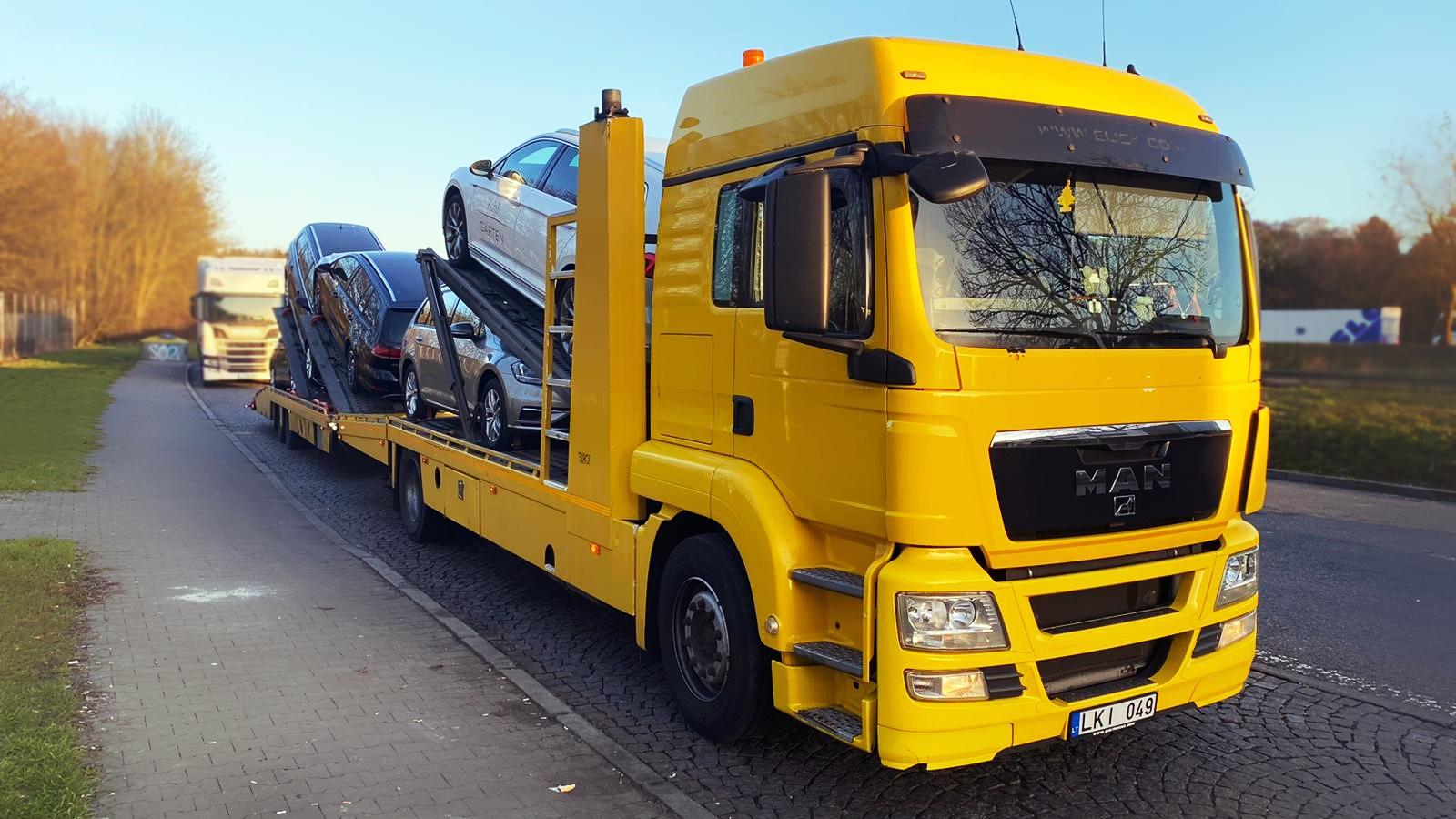 Automobilių gabenimas Europoje